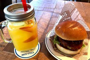 NICK STOCK モーニング ハンバーガー