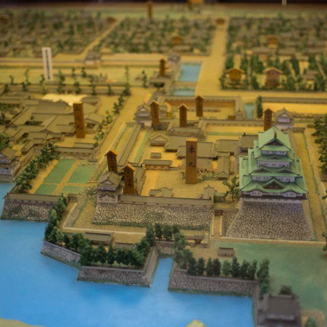 名古屋城模型