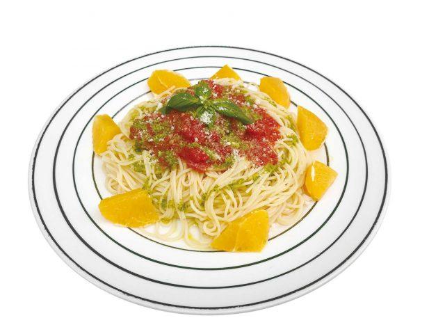 店麺多房あいうえお 「トマトの冷製パスタ」